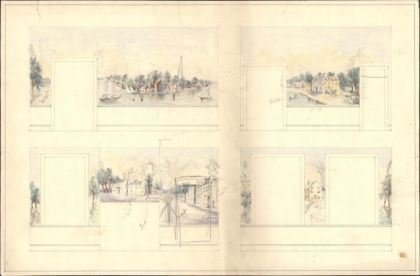 Historic sketch